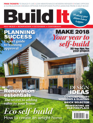 Build It - plan, design & build your dream home Feburary 2018