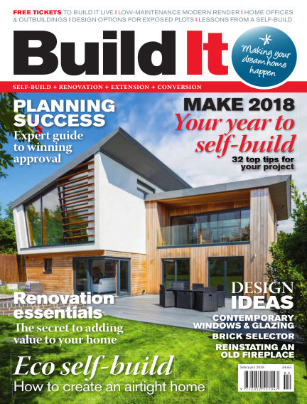 Build It - plan, design & build your dream home December 28, 2017 00:00