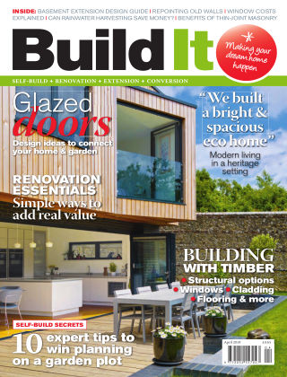 Build It - plan, design & build your dream home April 2018