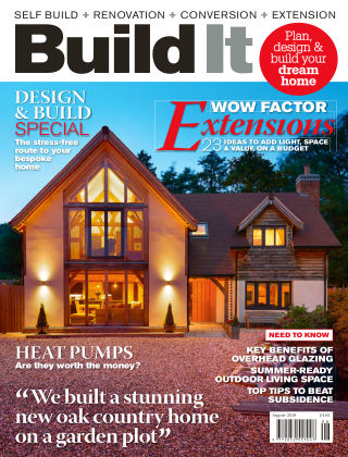 Build It - plan, design & build your dream home August 2018