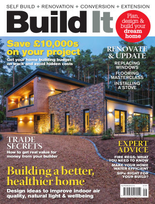 Build It - plan, design & build your dream home Sept 2018