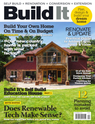 Build It - plan, design & build your dream home December 2018