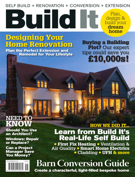 Build It - plan, design & build your dream home July 31, 2019 00:00