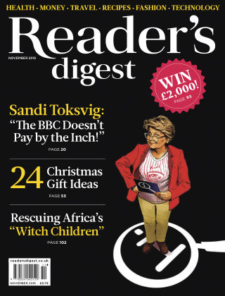 Reader's Digest UK November 2016
