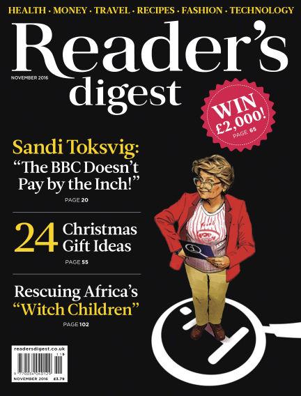 Reader's Digest UK November 01, 2016 00:00