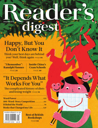 Reader's Digest UK January 2016
