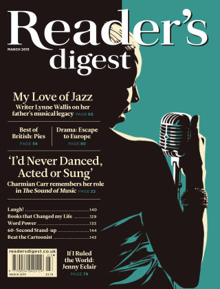 Reader's Digest UK March 2015