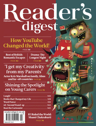 Reader's Digest UK February 2015