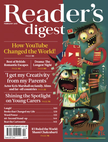 Reader's Digest UK February 01, 2015 00:00