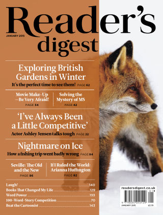 Reader's Digest UK January 2015