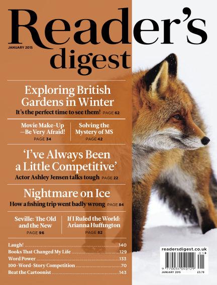 Reader's Digest UK January 01, 2015 00:00