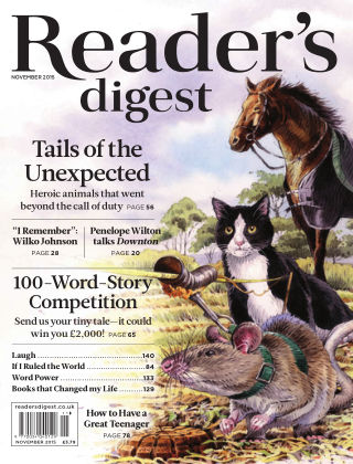 Reader's Digest UK November 2015