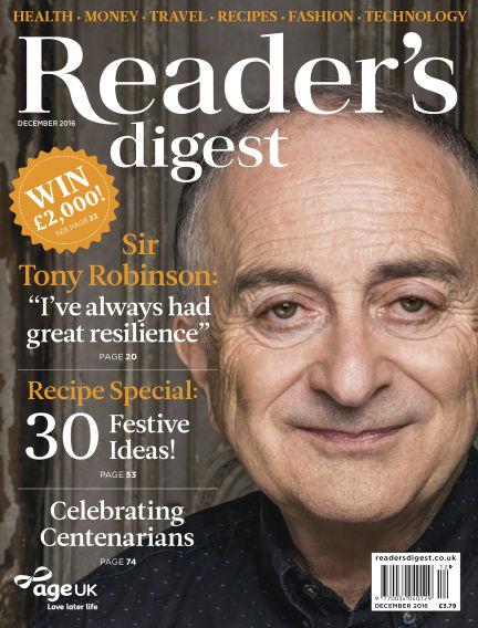 Reader's Digest UK December 01, 2016 00:00