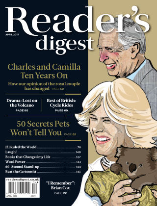 Reader's Digest UK April 2015
