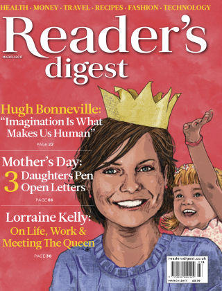 Reader's Digest UK March 2017