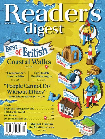 Reader's Digest UK August 01, 2015 00:00