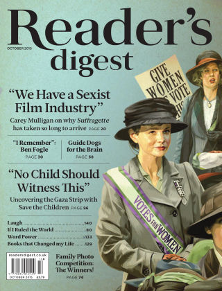 Reader's Digest UK October 2015