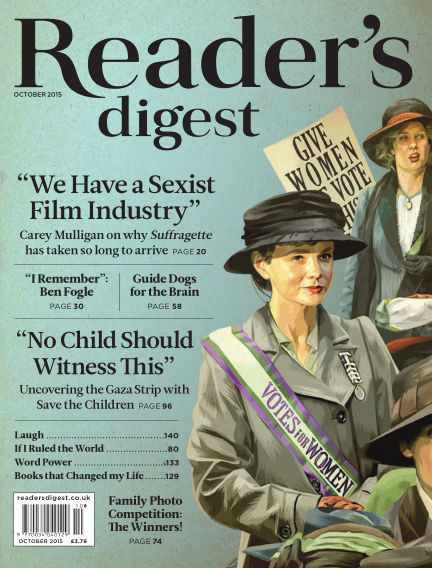 Reader's Digest UK October 01, 2015 00:00