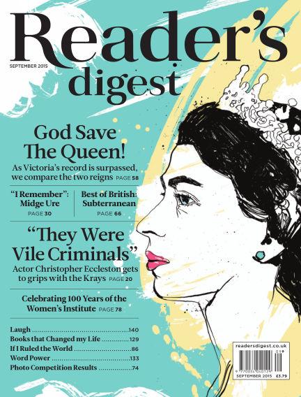 Reader's Digest UK September 01, 2015 00:00