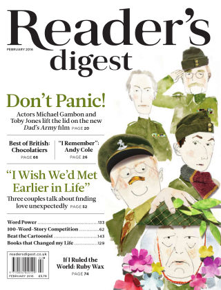 Reader's Digest UK February 2016