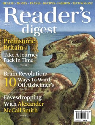 Reader's Digest UK July 2017