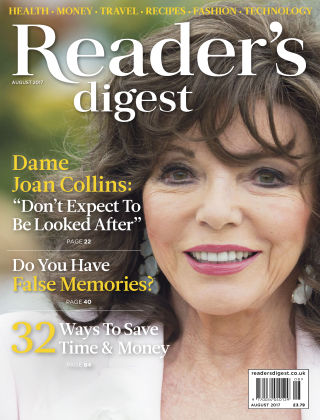 Reader's Digest UK August 2017