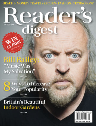 Reader's Digest UK January 2018