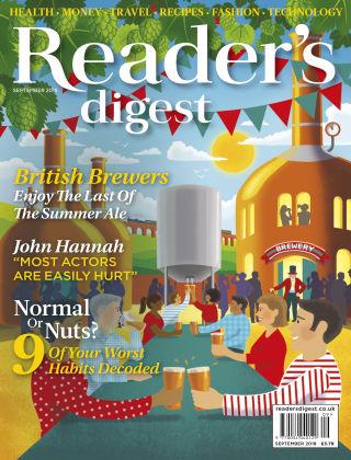 Reader's Digest UK September 2018