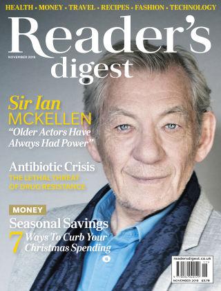 Reader's Digest UK November 2019