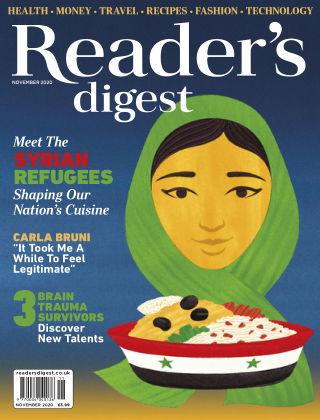 Reader's Digest UK November 2020