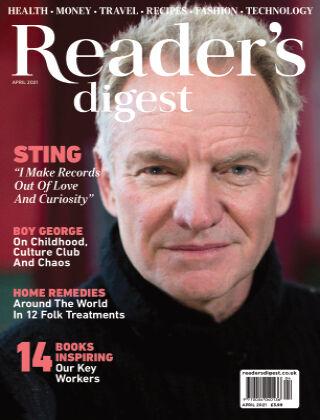 Reader's Digest UK April 2021