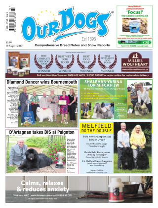 Our Dogs 18th August 2017
