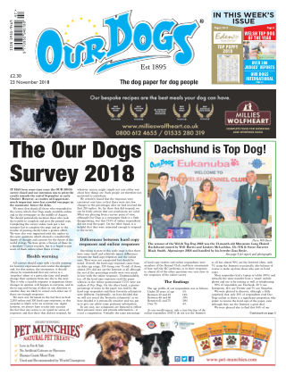 Our Dogs November 2018