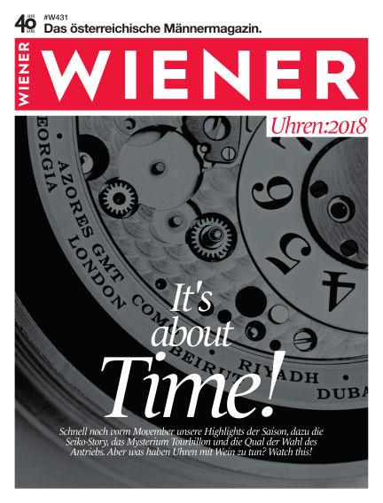 WIENER October 30, 2018 00:00