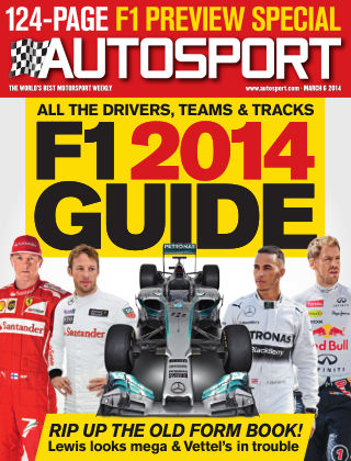 Autosport March 6th 2014