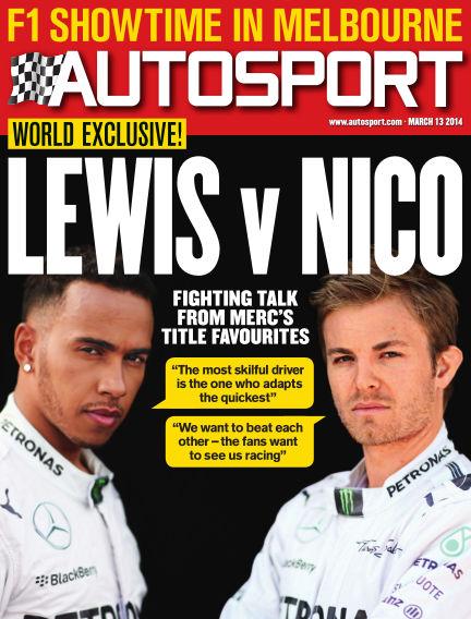Autosport March 13, 2014 00:00