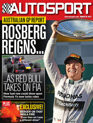 Autosport 20th March 2014