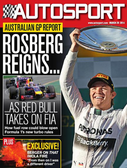Autosport March 20, 2014 00:00