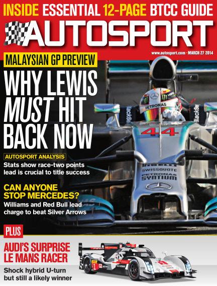 Autosport March 27, 2014 00:00