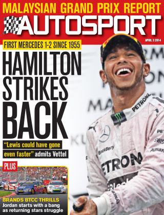 Autosport 3rd April 2014
