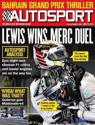 Autosport 10th April 2014