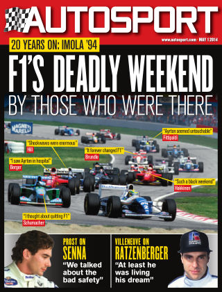 Autosport 1st May 2014