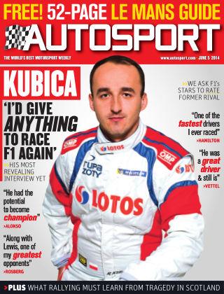 Autosport 5th June 2014