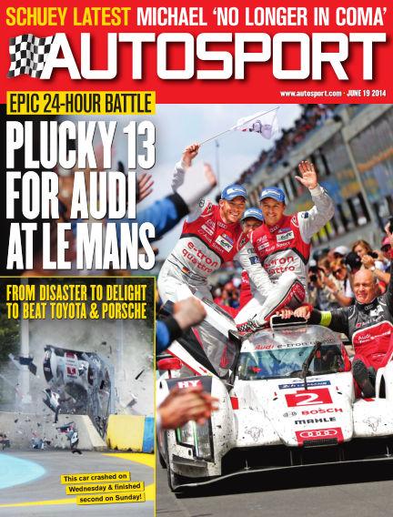 Autosport June 19, 2014 00:00