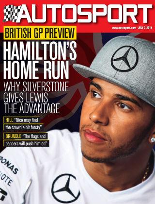 Autosport 3rd July 2014