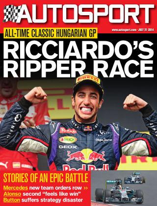 Autosport 31st July 2014