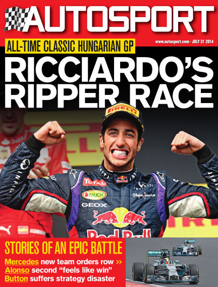 Autosport July 31, 2014 00:00