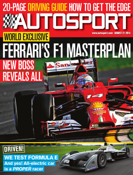 Autosport August 21, 2014 00:00