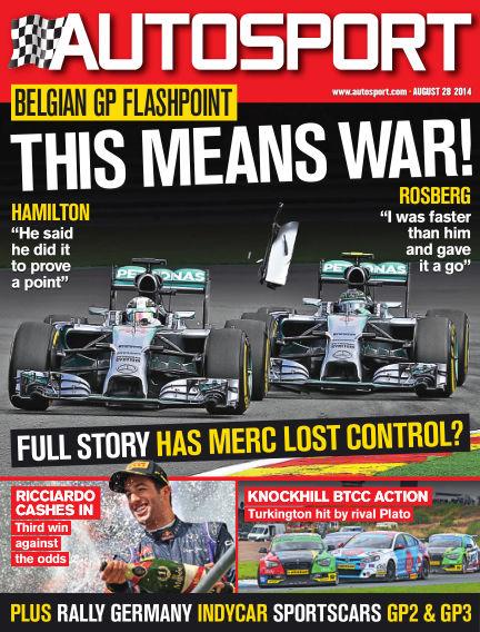 Autosport August 28, 2014 00:00