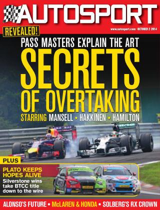 Autosport 2nd October 2014